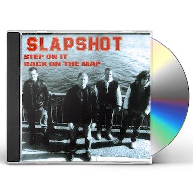 Slapshot STEP ON IT CD