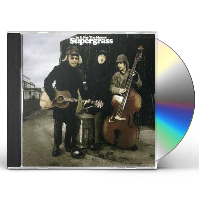 Supergrass IN IT FOR THE MONEY CD