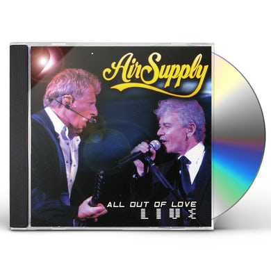 Air Supply ALL OUT OF LOVE LIVE CD