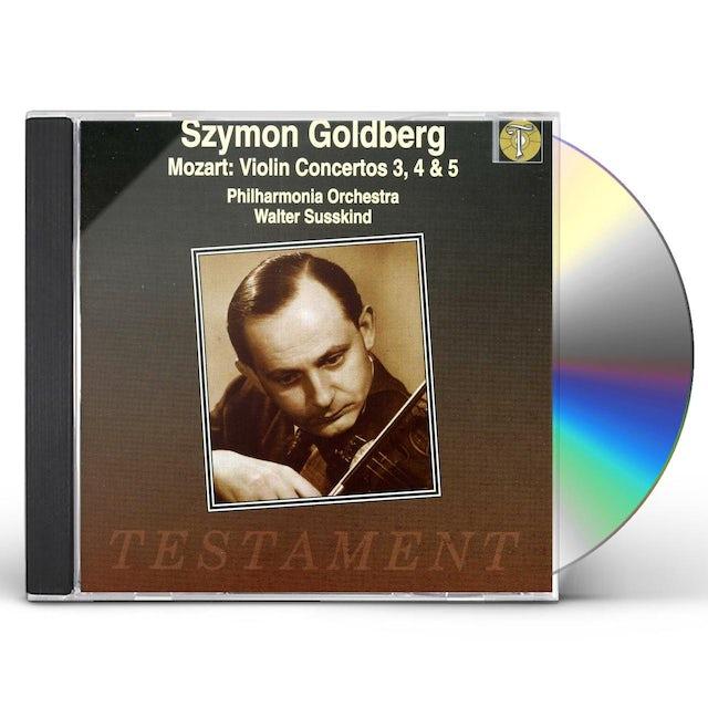 W.A. Mozart VIOLIN CONCERTOS 3 4 & 5 CD