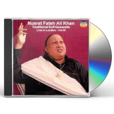 Nusrat Fateh Ali Khan LIVE IN LONDON 3 CD
