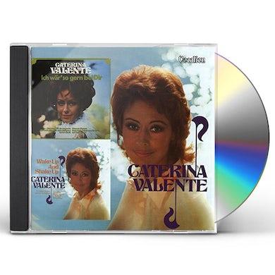 Caterina Valente WAKE UP & SHAKE UP & ICH WAR' SO GERN BEI DIR CD