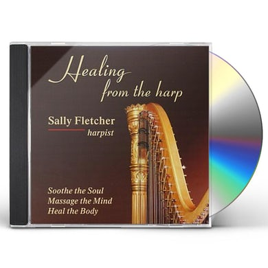 Sally Fletcher HEALING FROM THE HARP CD