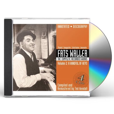 Fats Waller COMPLETE RECORDED WORKS 2: A HANDFUL OF KEYS CD