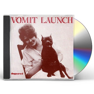 Vomit Launch DOGEARED CD
