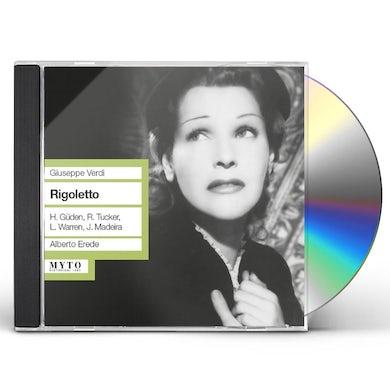 Verdi RIGOLETTO (1951) CD