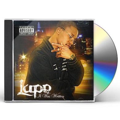 Lupe Fiasco IT WAS WRITTEN CD