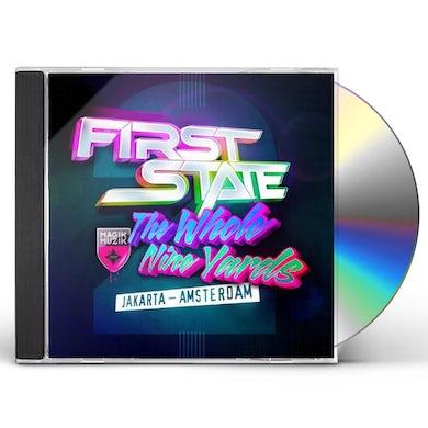 First State WHOLE NINE YARDS 2: JAKARTA - AMSTERDAM CD