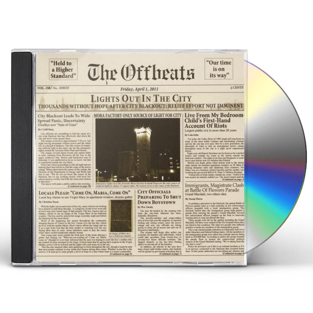 Offbeats LIGHTS OUT IN THE CITY CD