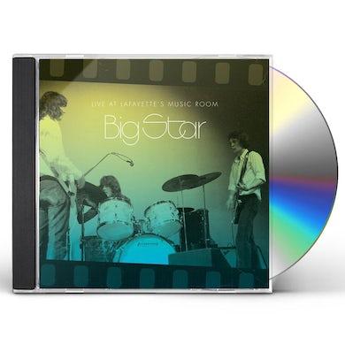 Big Star  LIVE AT LAFAYETTE'S MUSIC ROOM-MEMPHIS TN CD