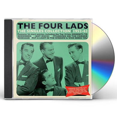 Four Lads SINGLES COLLECTION 1952-62 CD