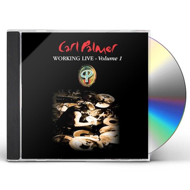 Carl Palmer WORKING LIVE VOLUME 1 CD