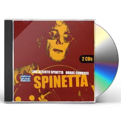 Luis Alberto Spinetta OBRAS CUMBRES (2CD) CD