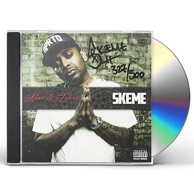 Skeme ALIVE & LIVING CD