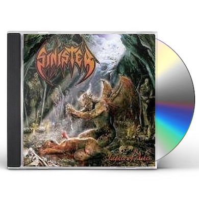 Sinister LEGACY OF ASHES CD