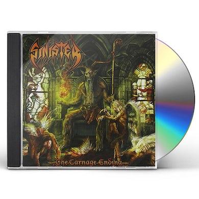Sinister CARNAGE ENDING CD