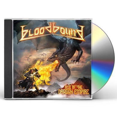 Bloodbound RISE OF THE DRAGON EMPIRE CD