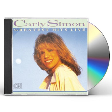 Carly Simon GREATEST HITS LIVE CD
