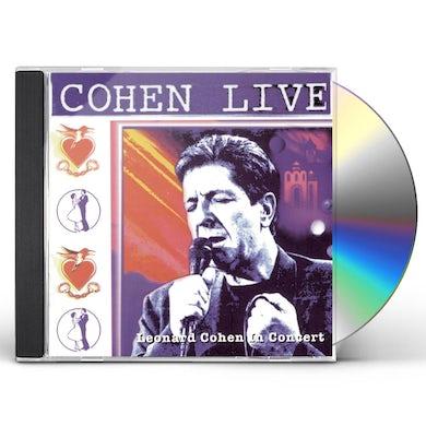 Leonard Cohen COHEN LIVE CD