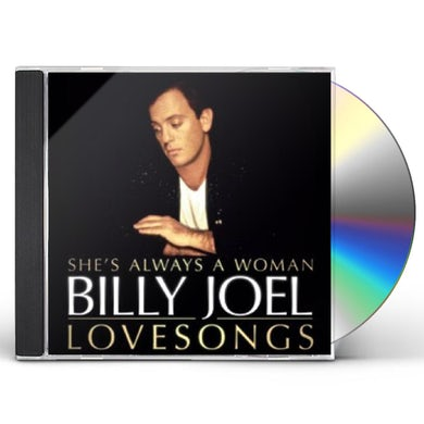 Billy Joel SHES ALWAYS A WOMAN: LOVE SONGS CD