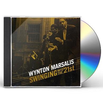 Wynton Marsalis SWINGIN INTO THE 21ST CD