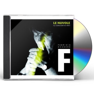 Fabrizio De Andre LE NUVOLE: IL CONCERTO 1991 CD
