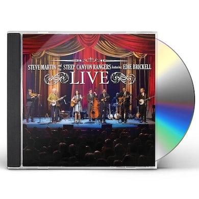 Steve Martin THE STEEP CANYON RANGERS CD