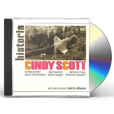 Cindy Scott HISTORIA CD