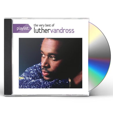 Luther Vandross PLAYLIST: VERY BEST OF CD