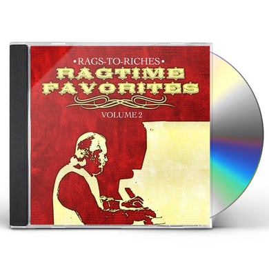 Rags-to-Riches RAGTIME FAVORITES VOL. 2 CD