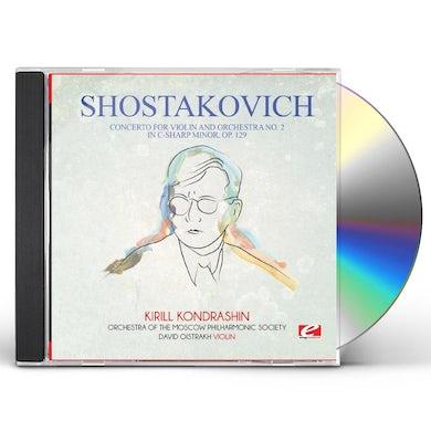 Shostakovich CONCERTO FOR VIOLIN & ORCHESTRA NO. 2 IN C-SHARP CD