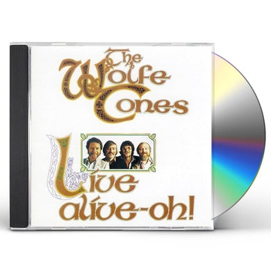 Wolfe Tones LIVE ALIVE OH CD