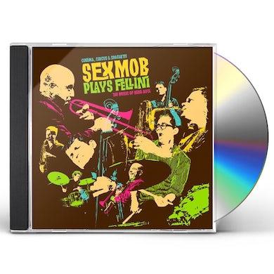 Sexmob CINEMA & CIRCUS & SPAGHETTI CD
