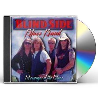 Blindside Blues Band MESSENGER OF THE BLUES CD