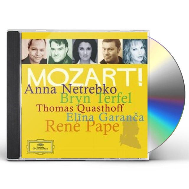 W.A. Mozart MOZART ALBUM CD