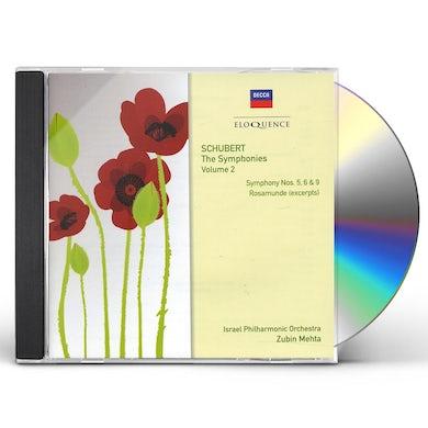 Zubin Mehta ELOQ: SCHUBERT - THE SYMPHONIES VOLUME 2 NO 6 ROSA CD