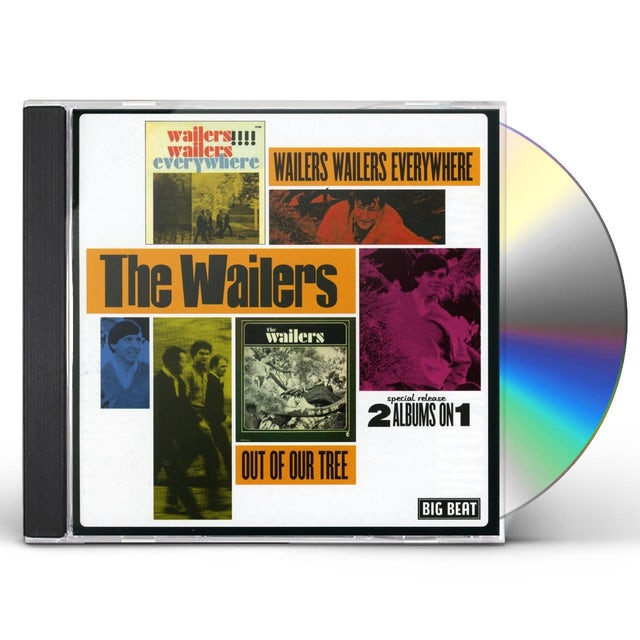 The Wailers WAILERS EVERYWHERE / OUT OF OUR TREE CD