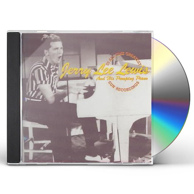 Jerry Lee Lewis 25 ALL TIME GREATEST SUN RECORDINGS CD