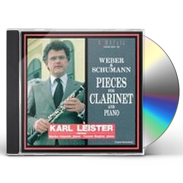Karl Leister PLAYS CLARINET WORKS CD