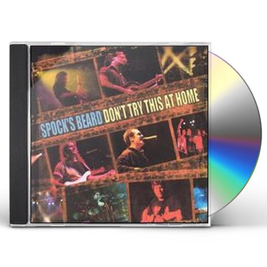 Spock'S Beard DON'T TRY THIS AT HOME: LIVE CD