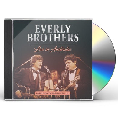 The Everly Brothers Live in australia 1971 CD