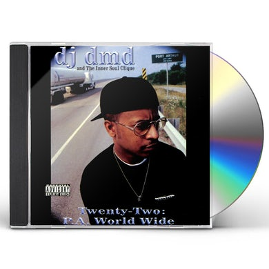 Dj Dmd TWENTY-TWO: P.A. WORLD WIDE CD