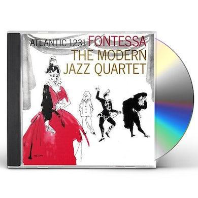 The Modern Jazz Quartet FONTESSA CD