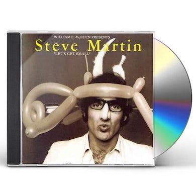 Steve Martin LET'S GET SMALL CD