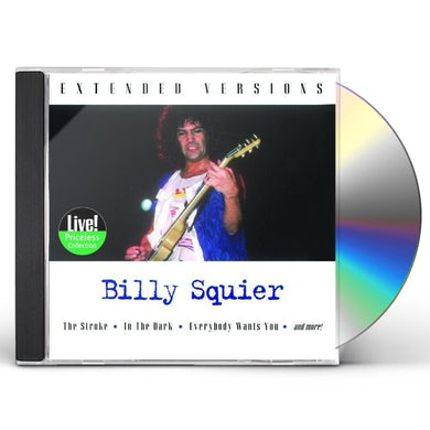 Billy Squier EXTENDED VERSIONS CD