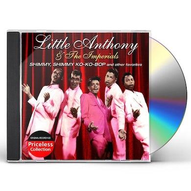 Little Anthony & Imperials SHIMMY SHIMMY KO-KO BOP & OTHER FAVORITES CD