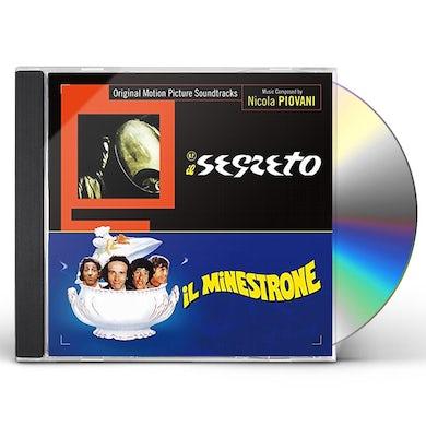 Nicola Piovani N.P. - IL SEGRETO / IL MINESTRONE / Original Soundtrack CD
