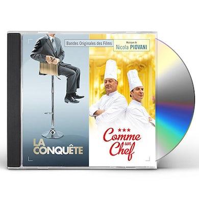 Nicola Piovani LA CONQUETE / COMME UN CHEF / Original Soundtrack CD