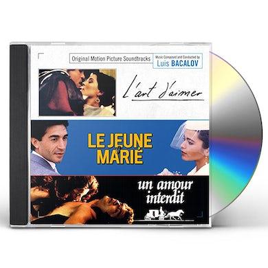 Luis Bacalov ART OF LOVE / YOUNG BRIDEGROOM / STRANGE PASSION CD