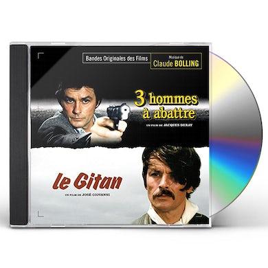 Claude Bolling  3 HOMMES A ABATTRE / LE GITAN / Original Soundtrack CD